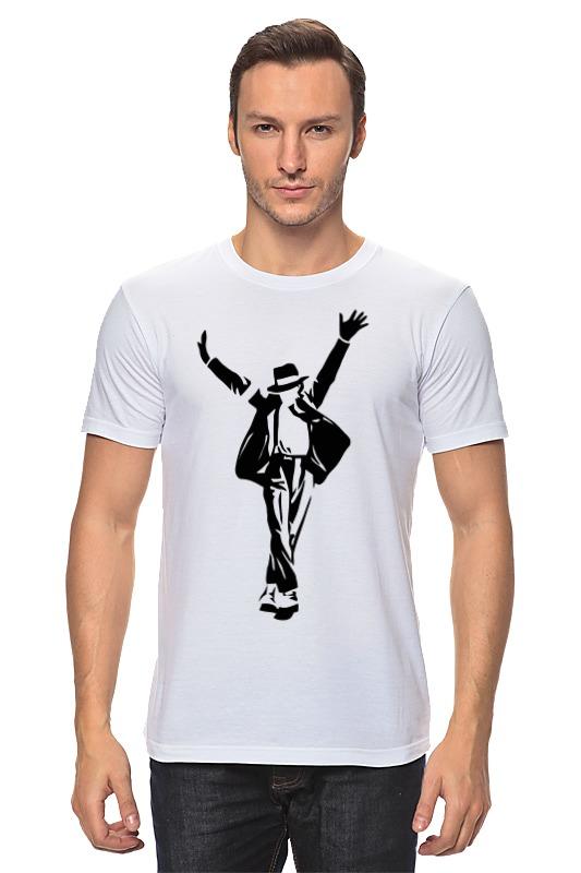 Футболка классическая Printio Майкл джексон (michael jackson) цена и фото