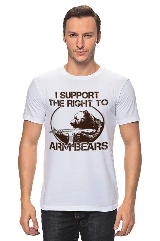 Футболка классическая Printio Медведь футболка классическая printio когти