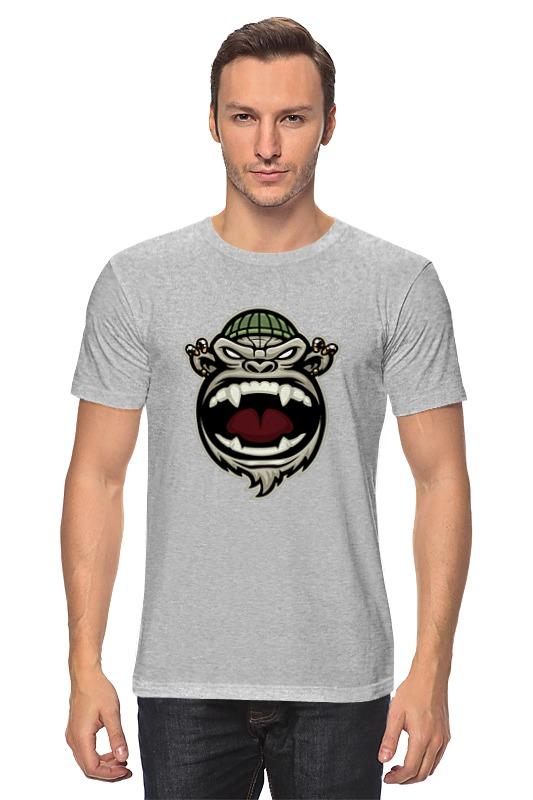 Футболка классическая Printio Обезьяна (monkey) monkey business футболка