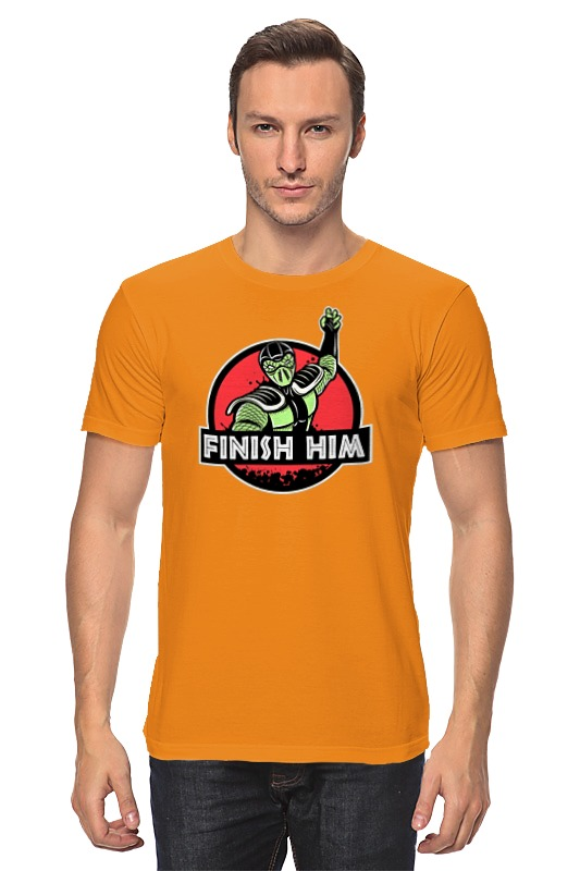 Футболка классическая Printio Finish him футболка print bar him