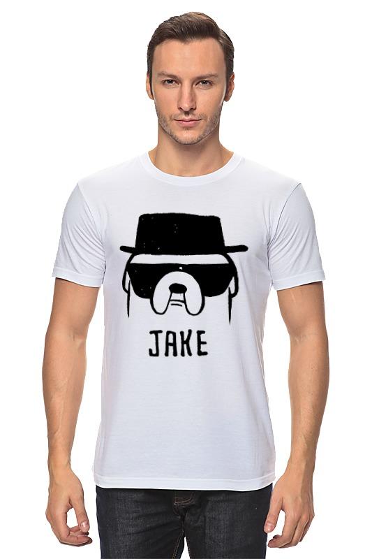 Футболка классическая Printio Jake heisenberg футболка wearcraft premium printio jake heisenberg