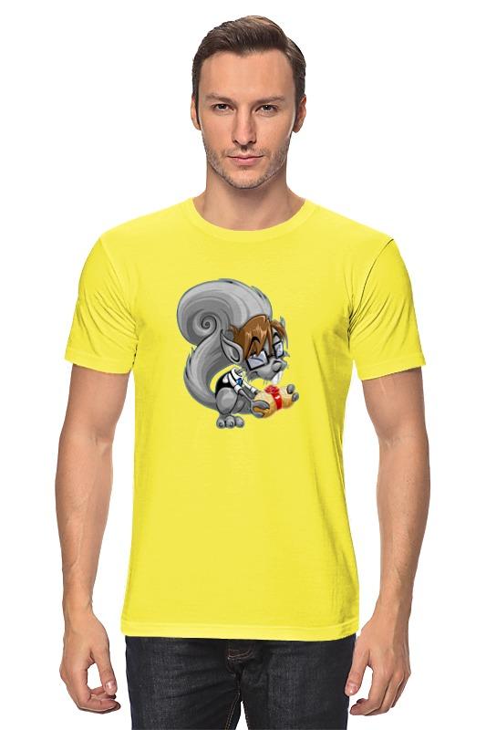 Футболка классическая Printio Белка с орехом футболка классическая printio белка с орехом