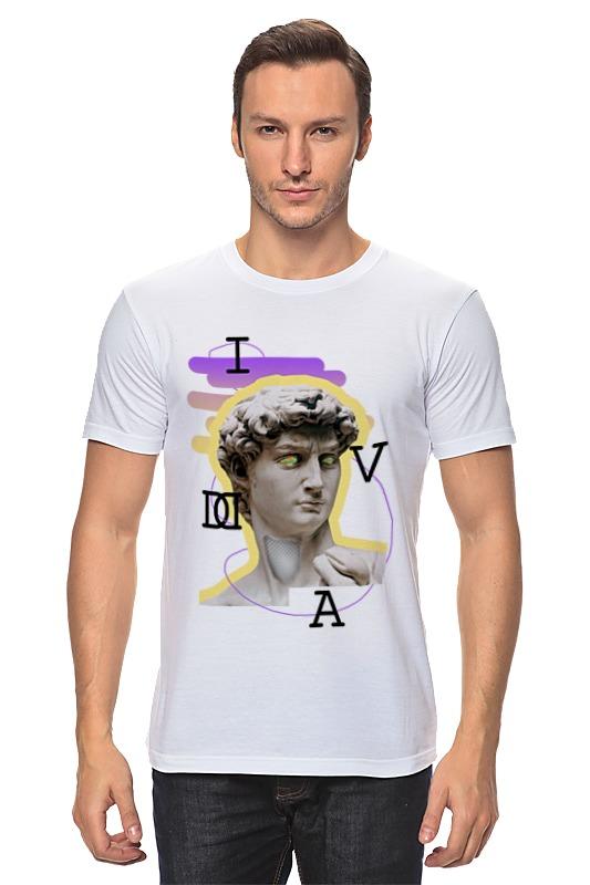 Футболка классическая Printio Ass david футболка wearcraft premium printio ass david