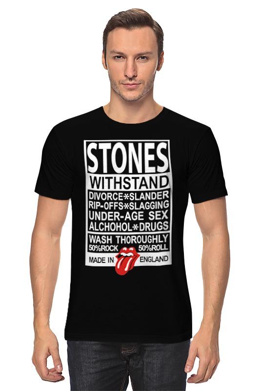 Футболка классическая Printio The rolling stones футболка классическая printio mick jagger the rolling stones