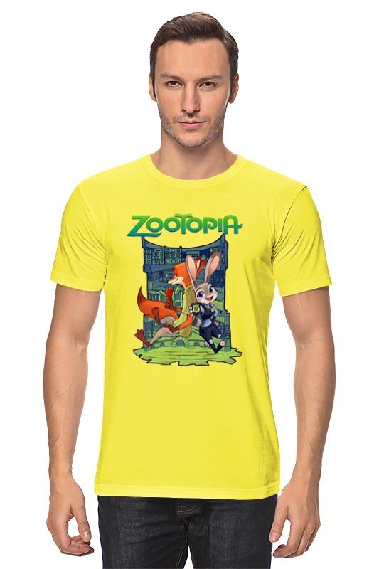 Футболка классическая Printio Zootopia stylish long smoky gray movie zootopia judy hopps cosplay wig with double braided