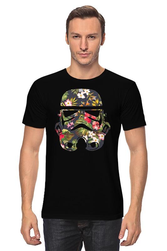 Футболка классическая Printio Шлем штурмовика мото шлем beon 2015