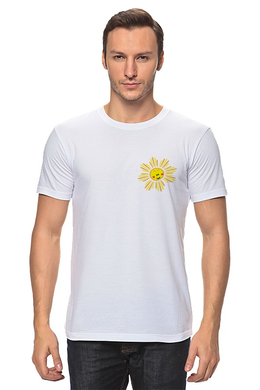 Футболка классическая Printio Солнышко футболка asos 574120 elevenparis