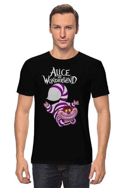 Футболка классическая Printio Alice in wonderland футболка классическая printio alice in wonderland