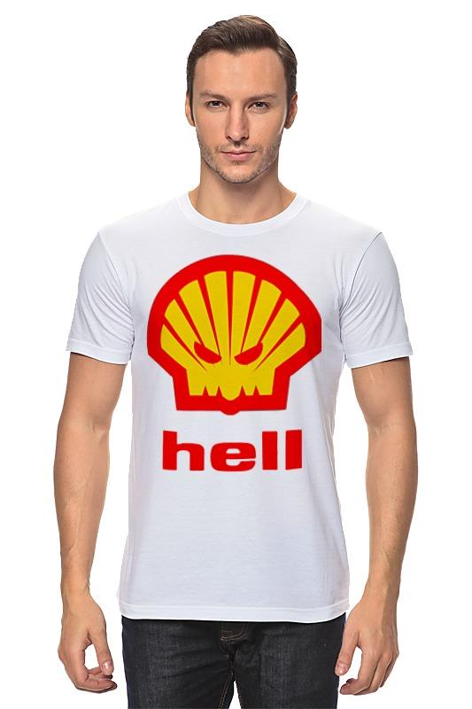Футболка классическая Printio Hell (ад) agip масло моторное в краснодаре