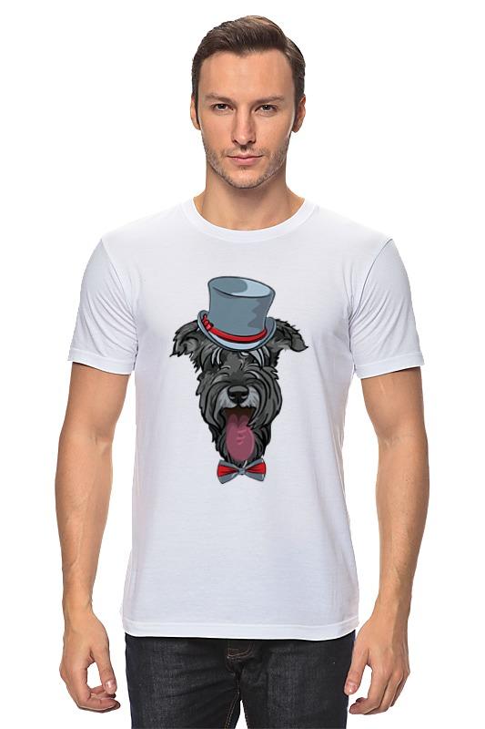 Футболка классическая Printio Шнауцер как купить собаку в новосибирске породы ризеншнауцер без документов