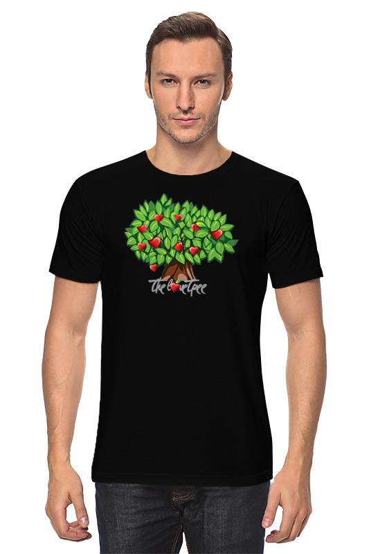 Футболка классическая Printio Icalistini the love tree дерево любви