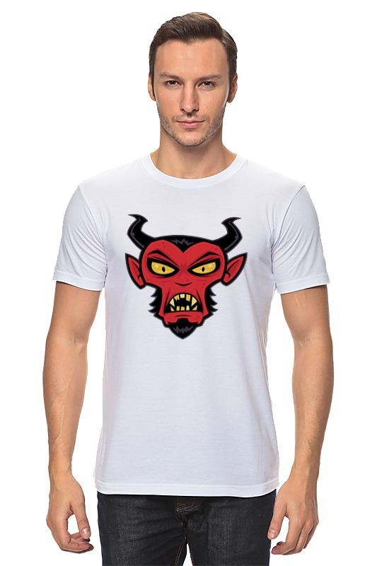 Футболка классическая Printio Сатана