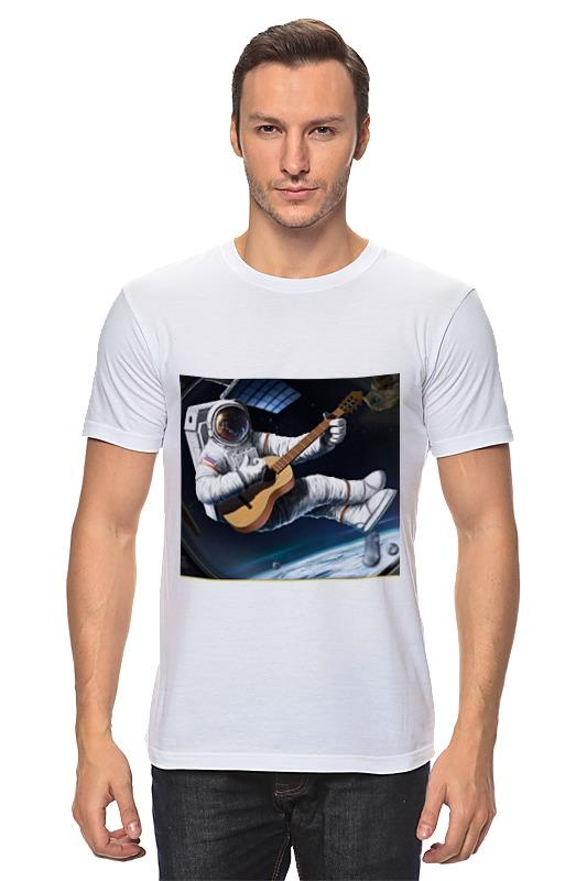 Футболка классическая Printio Русский космонавт футболка русский андеграунд