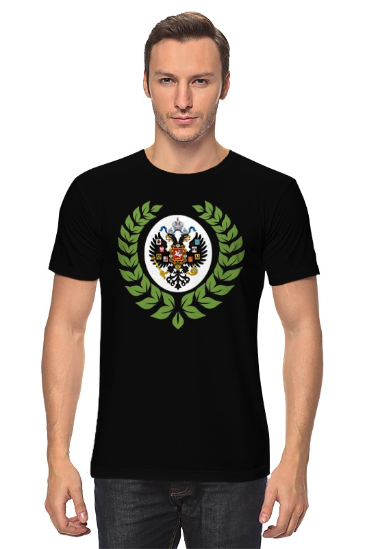 Футболка классическая Printio Царская россия царская корона