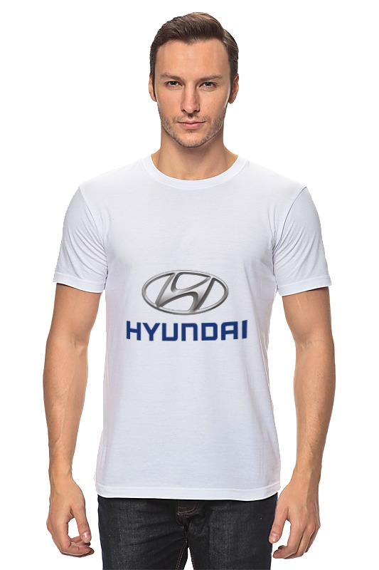 Футболка классическая Printio Hyundai сумка printio hyundai