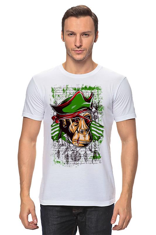 Футболка классическая Printio Monkey pirate цены