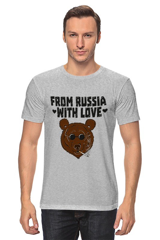 Футболка классическая Printio From russia with love from china with love