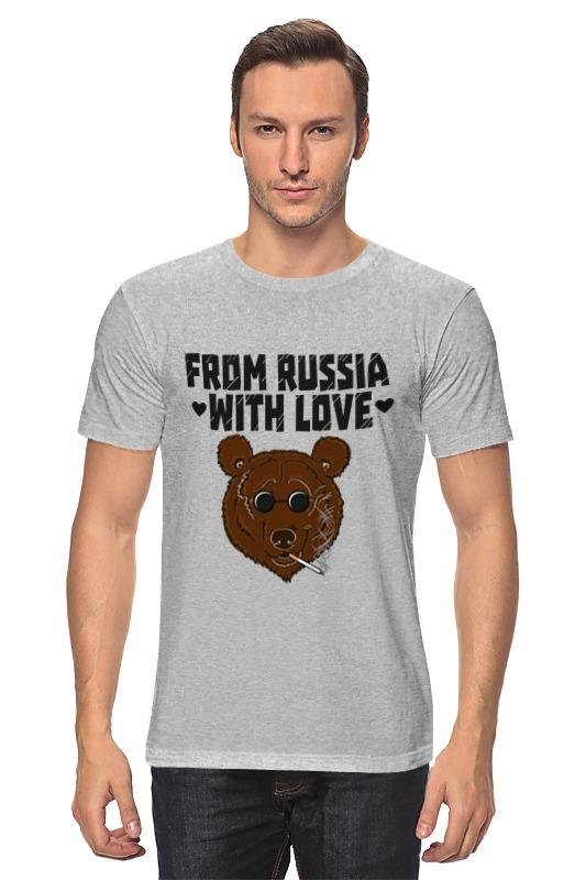 Футболка классическая Printio From russia with love