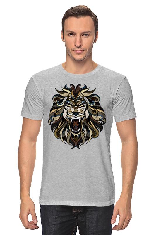 Футболка классическая Printio Рычащий лев детская футболка классическая унисекс printio рычащий лев