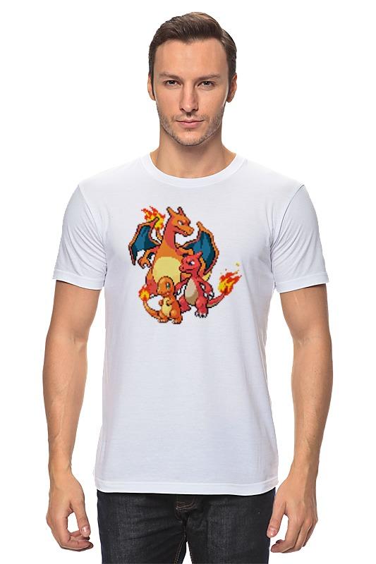 Футболка классическая Printio Покемоны 8-бит (драконы) футболка print bar китайские драконы
