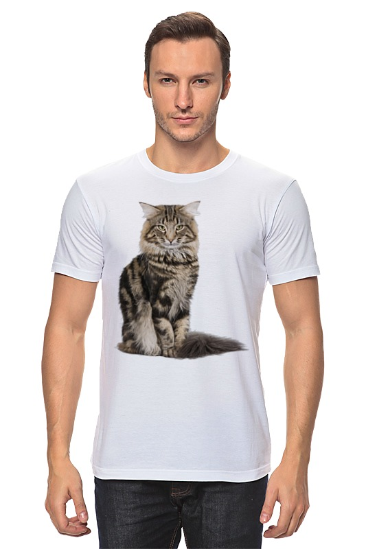 Футболка классическая Printio Милый пушистый кот