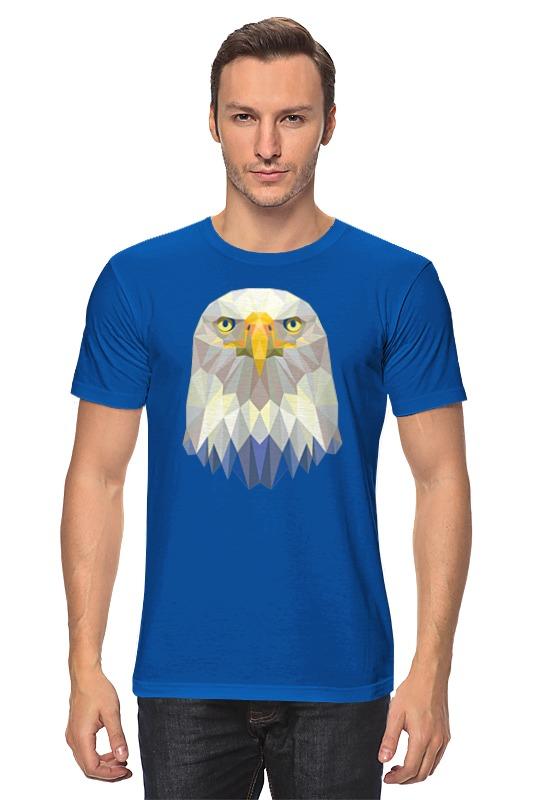 Футболка классическая Printio Полигональный орёл