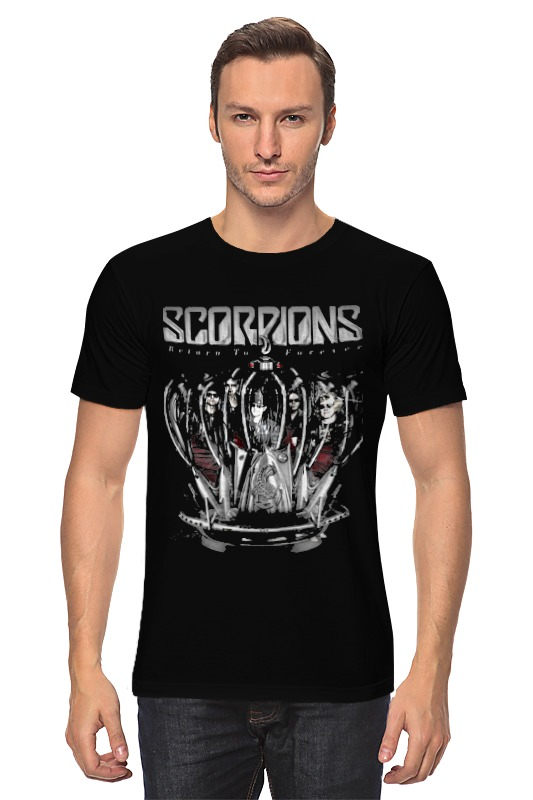 Футболка классическая Printio Scorpions - return to forever tour scorpions scorpions return to forever 2 lp