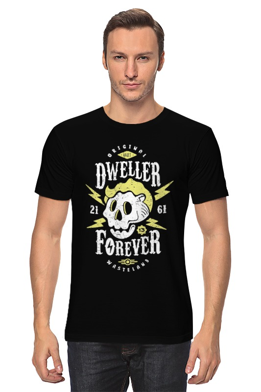 Футболка классическая Printio Dweller forever