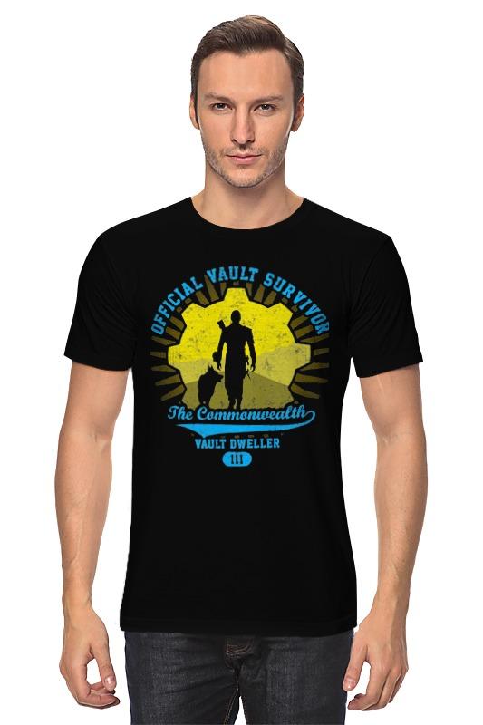 Футболка классическая Printio Fallout. vault dweller футболка классическая printio fallout фэллаут