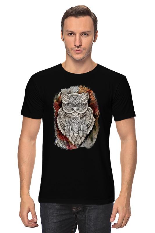 Футболка классическая Printio Doodle owl майка классическая printio doodle owl