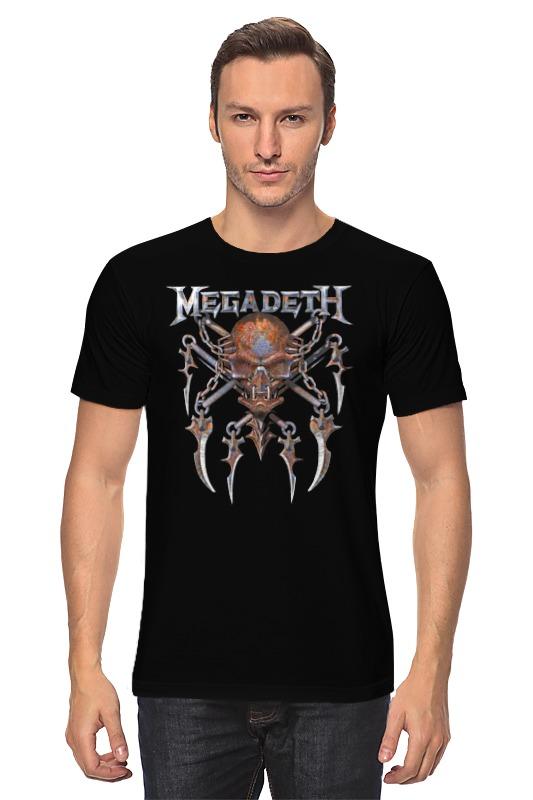 Футболка классическая Printio Megadeth performance enhancement in multicore processors
