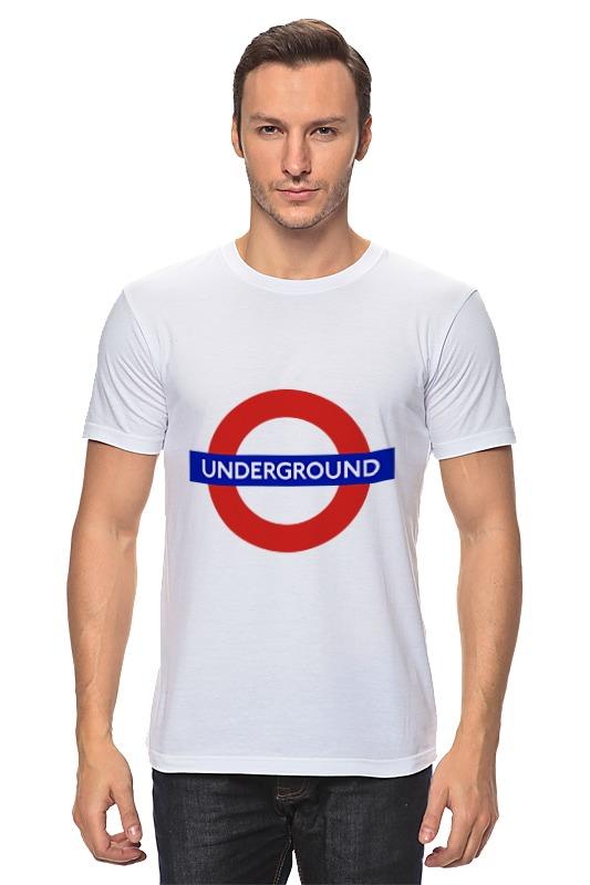 Футболка классическая Printio Underground сумка printio underground