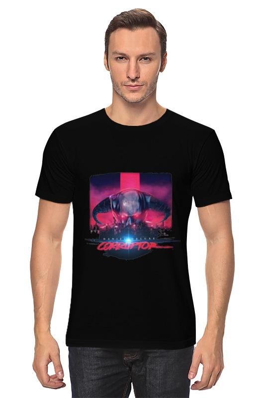 Футболка классическая Printio Daniel deluxe corruptor t-shirt часы nixon time teller deluxe leather navy sunray brow