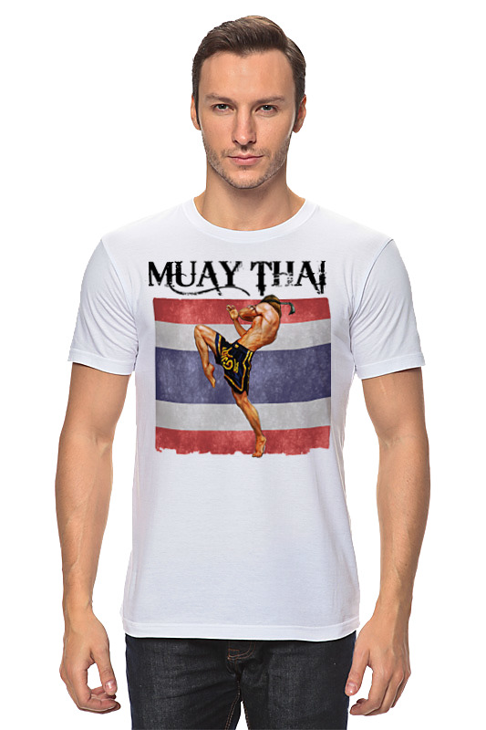 Футболка классическая Printio Muay thai муай тай тайский бокс дмитрий щегрикович тайский бокс