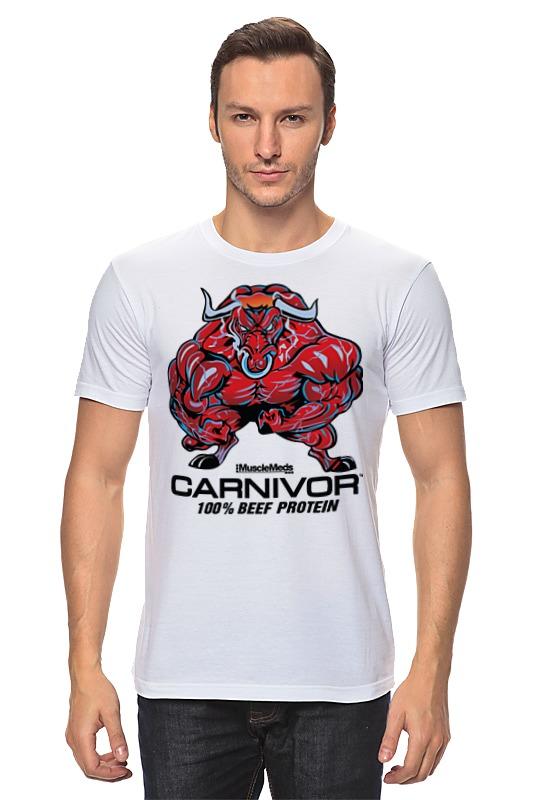 Футболка классическая Printio Bull bodybuilder цена