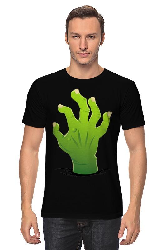 Футболка классическая Printio Зомби рука лонгслив printio рука зомби zombie hand