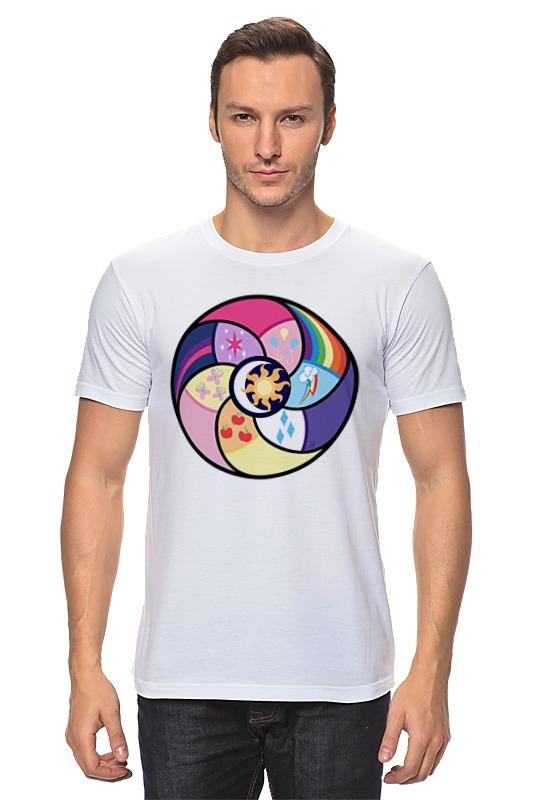 Футболка классическая Printio Elements of harmony футболка для беременных printio elements of harmony