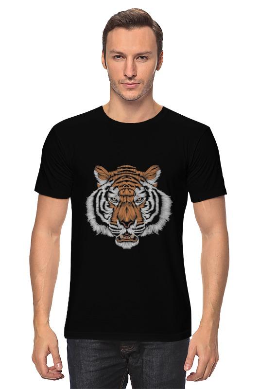 Футболка классическая Printio Взгляд тигра хоук к в поисках тигра