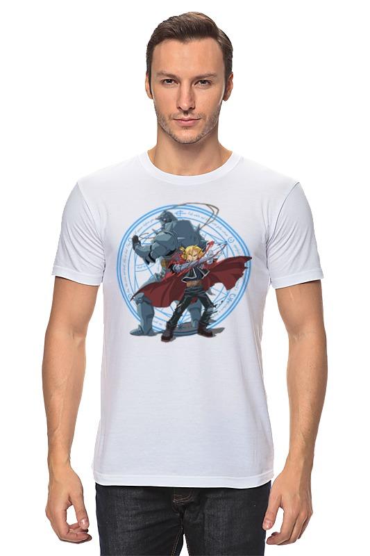 Футболка классическая Printio Стальной алхимик футболка классическая printio стальной алхимик