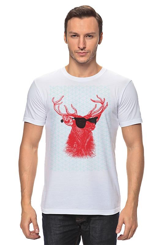 Футболка классическая Printio Deer deer embroidery tee