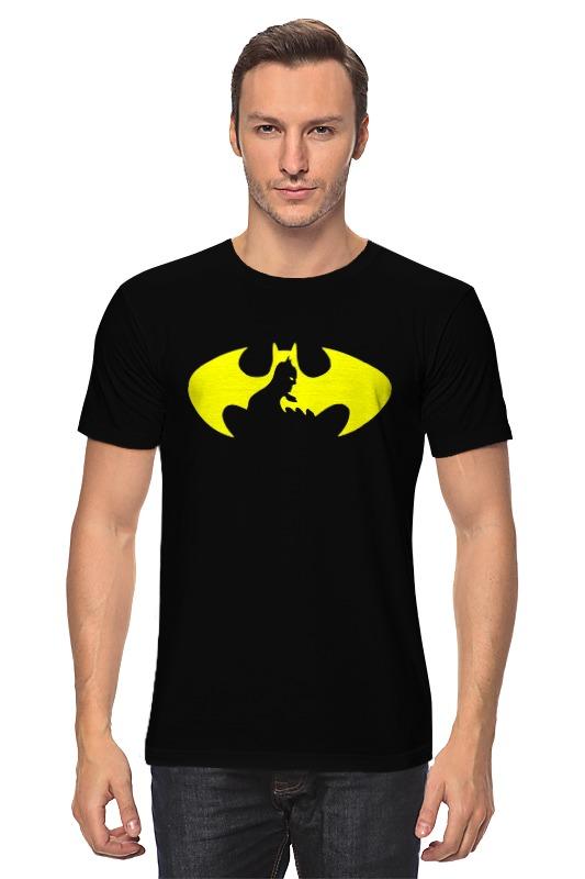 Футболка классическая Printio Бэтмен (batman) футболка рингер printio batman бэтмен
