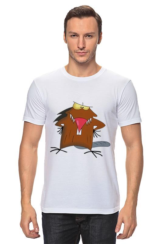 Футболка классическая Printio The angry beavers лонгслив printio the angry beavers