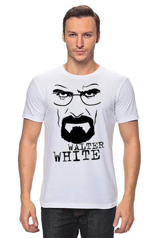 Футболка классическая Printio Walter white футболка стрэйч printio walter