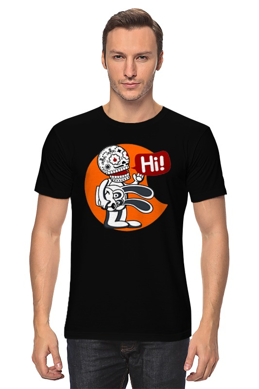 Футболка классическая Printio Скелетон футболка классическая printio скелетон