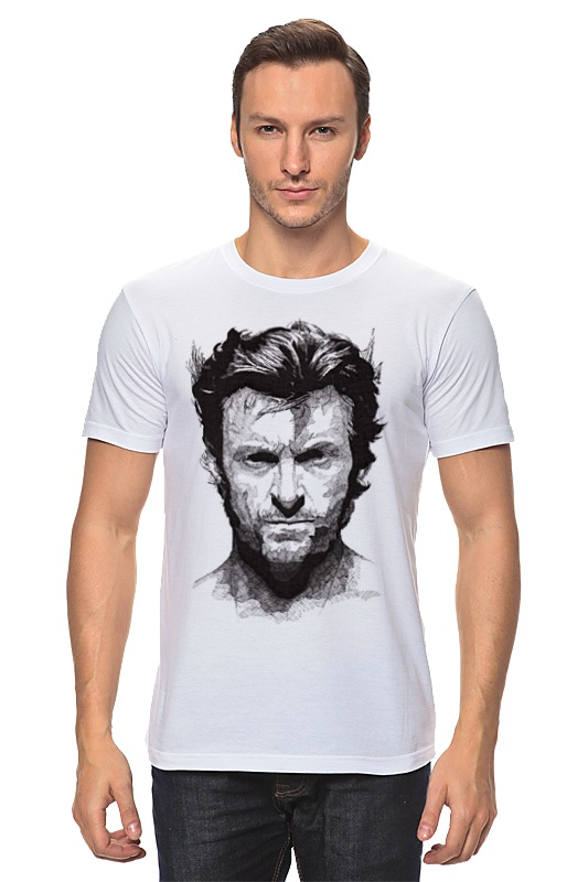 Футболка классическая Printio Росомаха printio футболка стрэйч