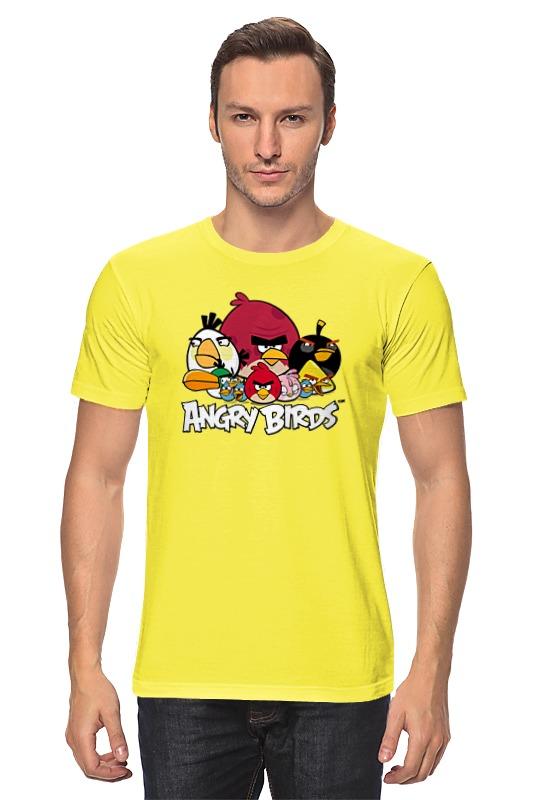 Футболка классическая Printio Angry birds футболка print bar flower birds