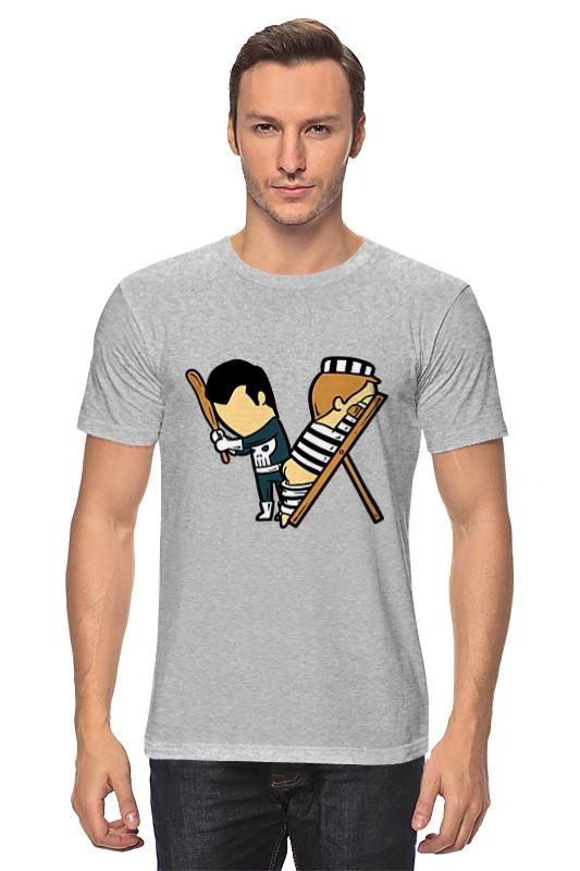 Футболка классическая Printio Каратель футболка классическая printio каратель