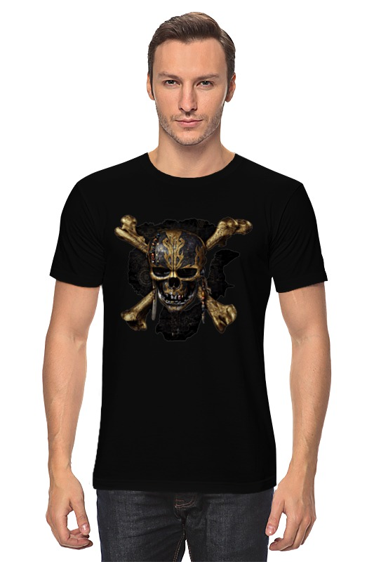 Футболка классическая Printio Skulls pirates of the caribbean logo pirates of the caribbean at world s end level 3 cd