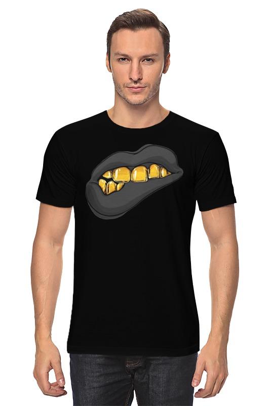 Футболка классическая Printio Золотая ухмылка детская футболка классическая унисекс printio золотая ухмылка