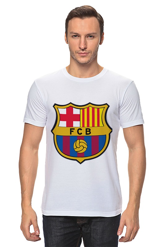 Футболка классическая Printio Барселона tryp barcelona condal mar hotel 4 барселона